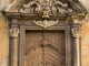 Eingang zur Kirche von Milleschau