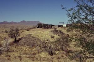IAS-Sternwarte auf Hakos (Januar 2002)