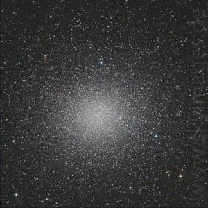 Kugelsternhaufen Omega Centauri (Aufnahme von 2009)