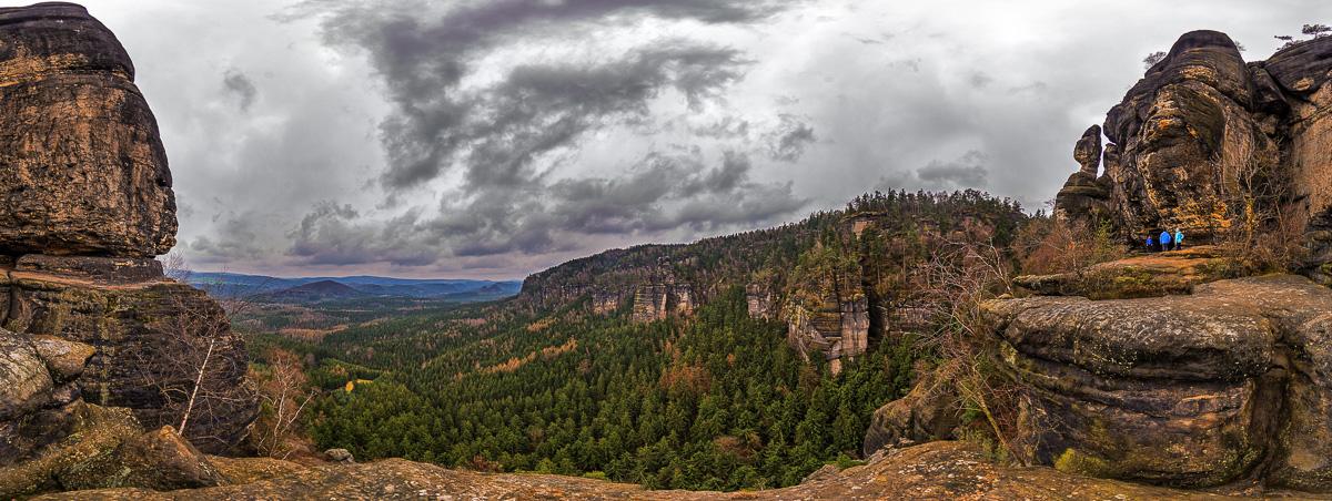 Panoramablick von der Idagrote aus