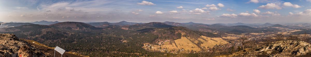 Panorama vom Kleis nach Norden