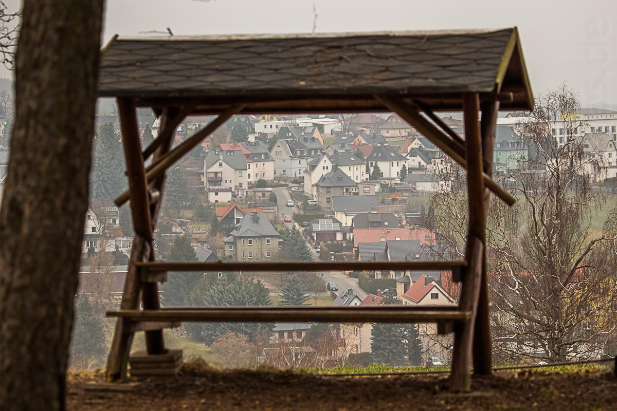 Blick nach Hohndorf