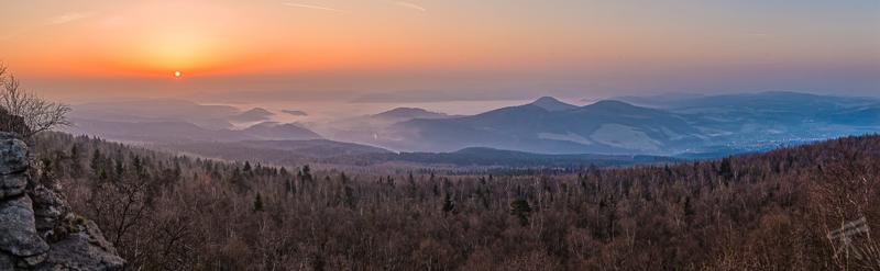 Sonnenaufgang auf dem Hohen Schneeberg