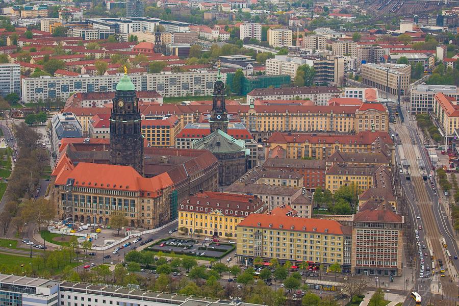 Rathaus, Altmarkt, Willsdruffer Straße