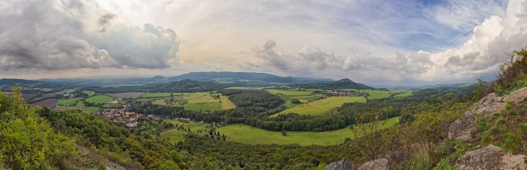 Blick vom Kelchberg