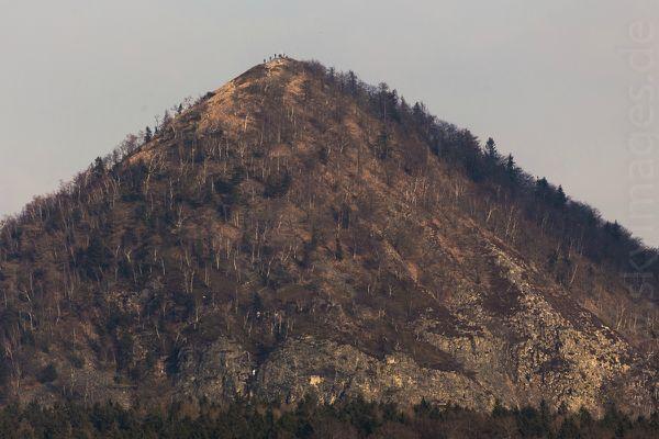 Gipfel des Kleis von Blottendorf aus