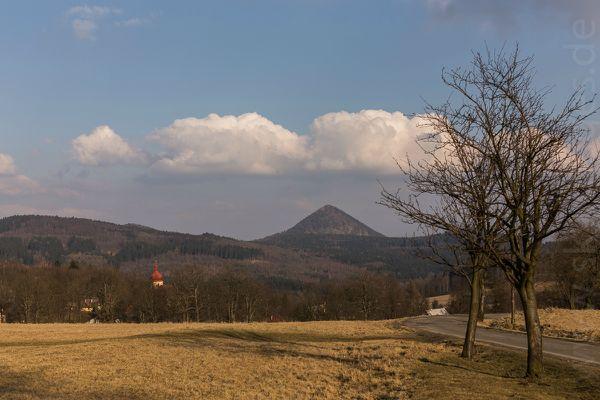 Blick von Blottendorf zum Kleis