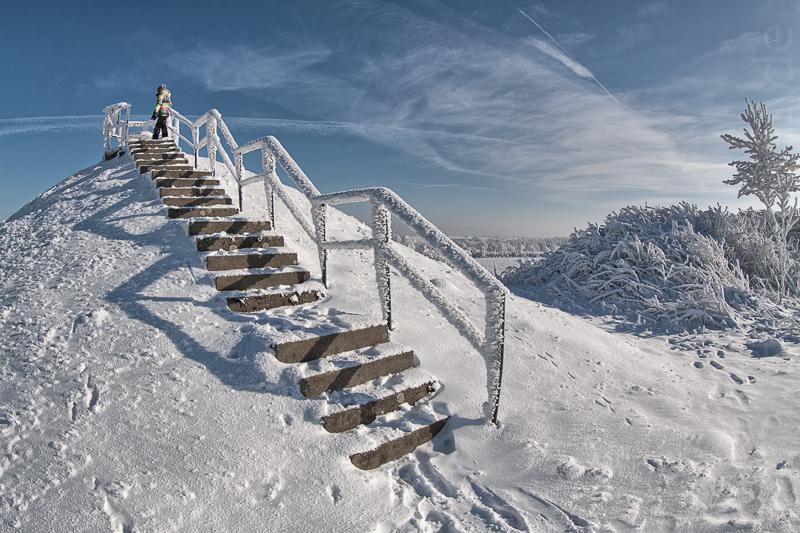 Aussichtsplattform der Oelsner Höhe